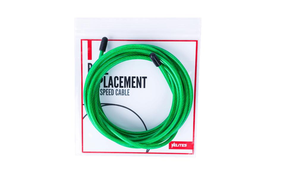 Cable verde de 4 mm